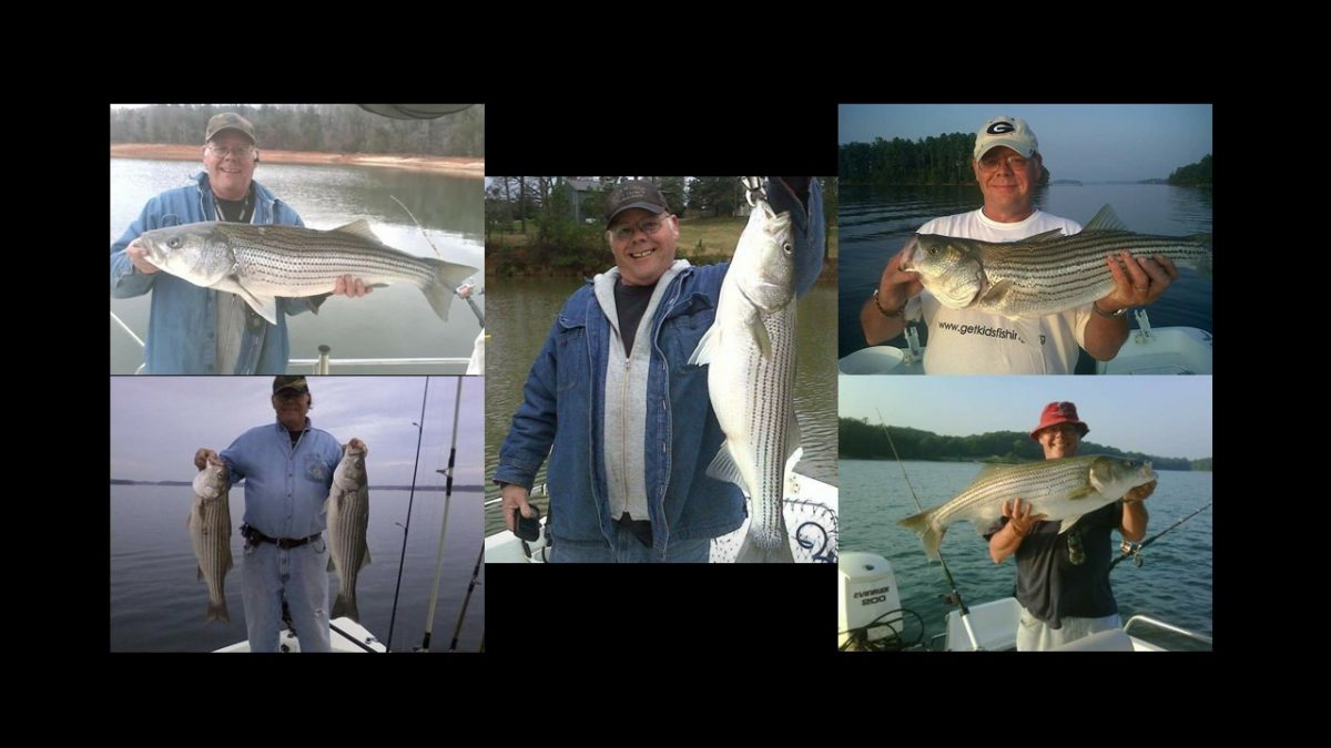 DON BROWN – STRIPER FISHING TOURNAMENT